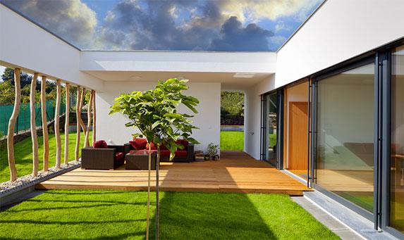 אדריכלות נוף לבית פרטי