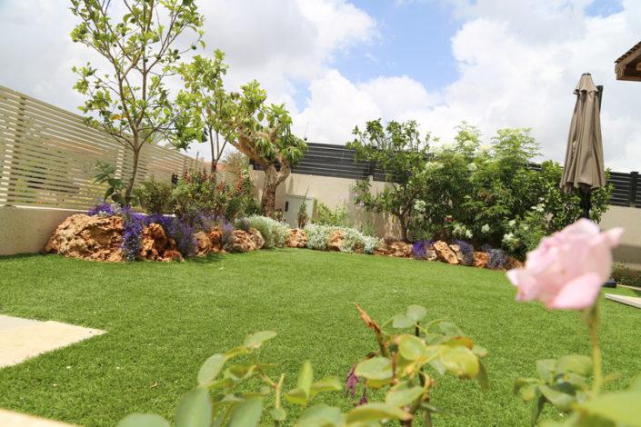 דשא סינטטי בצבע טבעי
