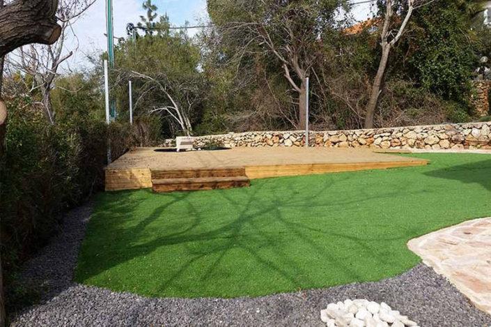 דשא סיננטי בגינת נוי