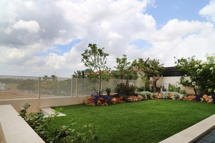 הקמת גינה עם עצים