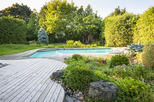 אדריכלות נוף לחצר הפרטית